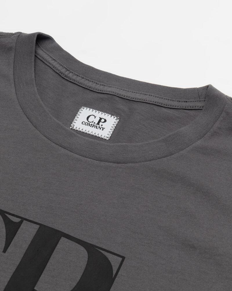 T-Shirt C.p. Company 10CMTS064A005100W_938 ciemnoszary - fot:2