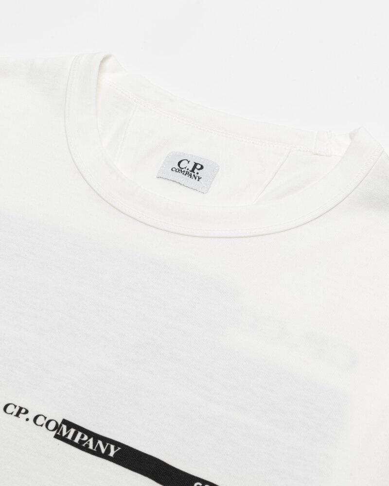 T-Shirt C.p. Company 10CMTS294A005697O_103 biały - fot:2