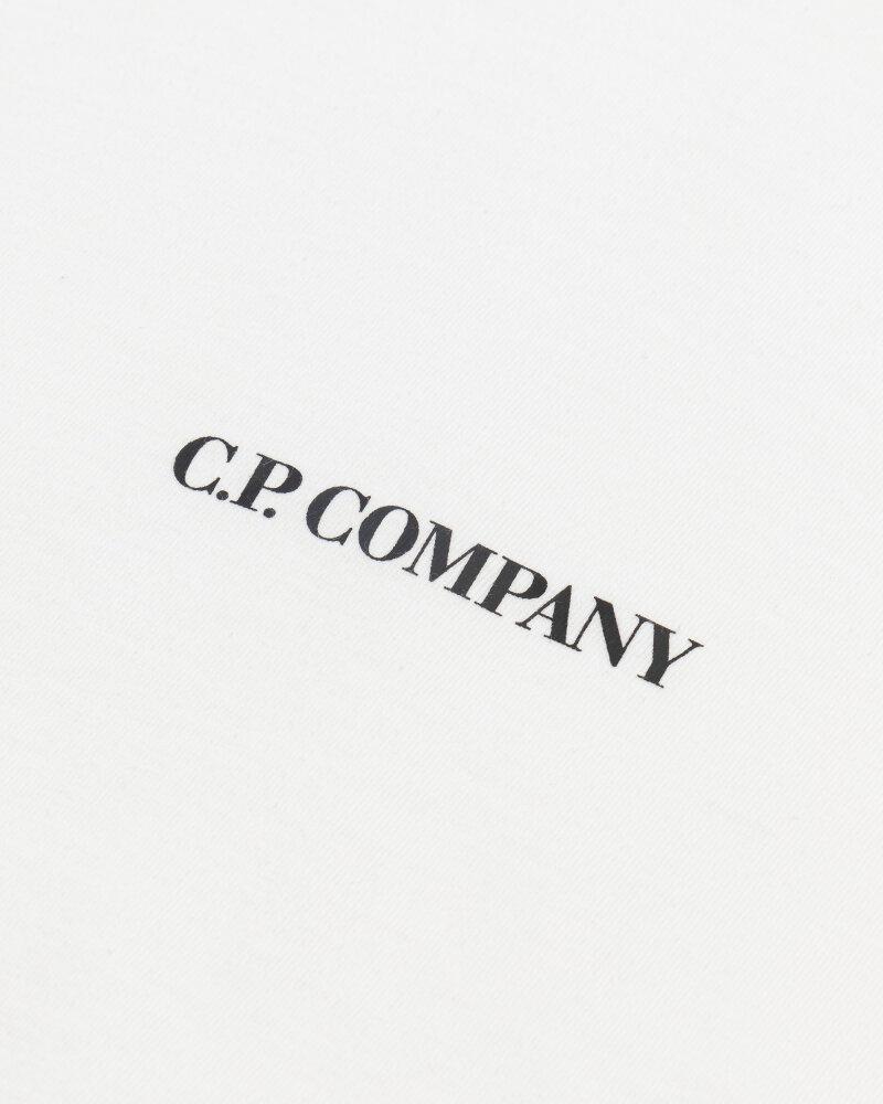 T-Shirt C.p. Company 10CMTS213A006011W_103 biały - fot:3