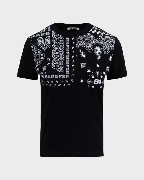 T-Shirt Gas A1239_DOLL S.BANDANA      _0200 czarny
