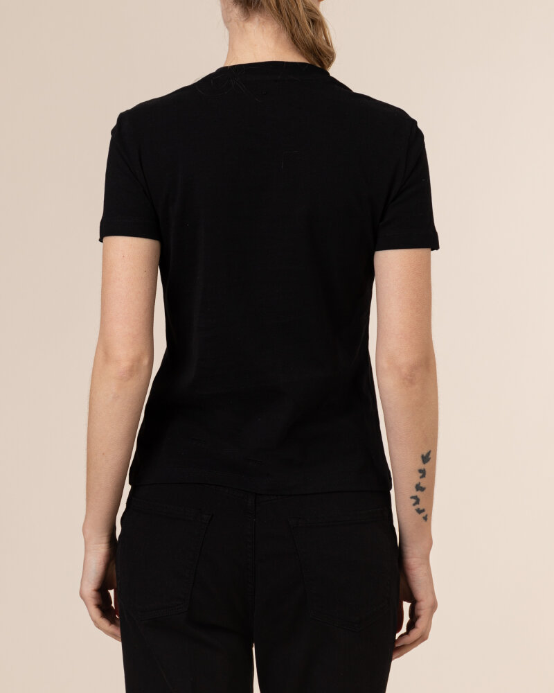T-Shirt Gas A1239_DOLL S.BANDANA      _0200 czarny - fot:4