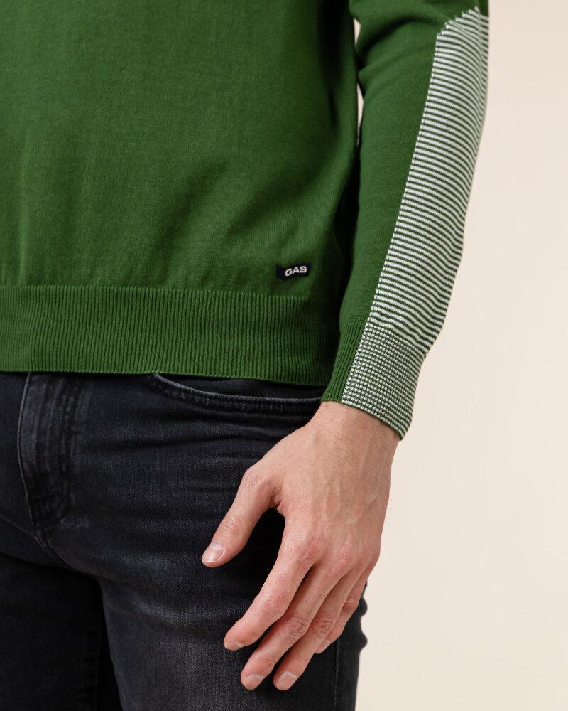 Sweter Gas A1275_ULIVIE/R            _1698 zielony - fot:3
