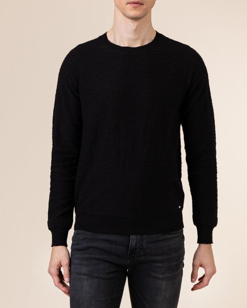 Sweter Gas A1304_MILLO/R             _0200 czarny - fot:2