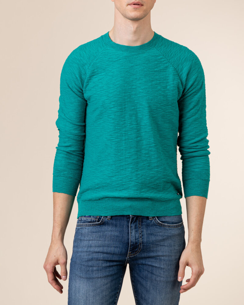 Sweter Gas A1304_MILLO/R             _2638 zielony - fot:2