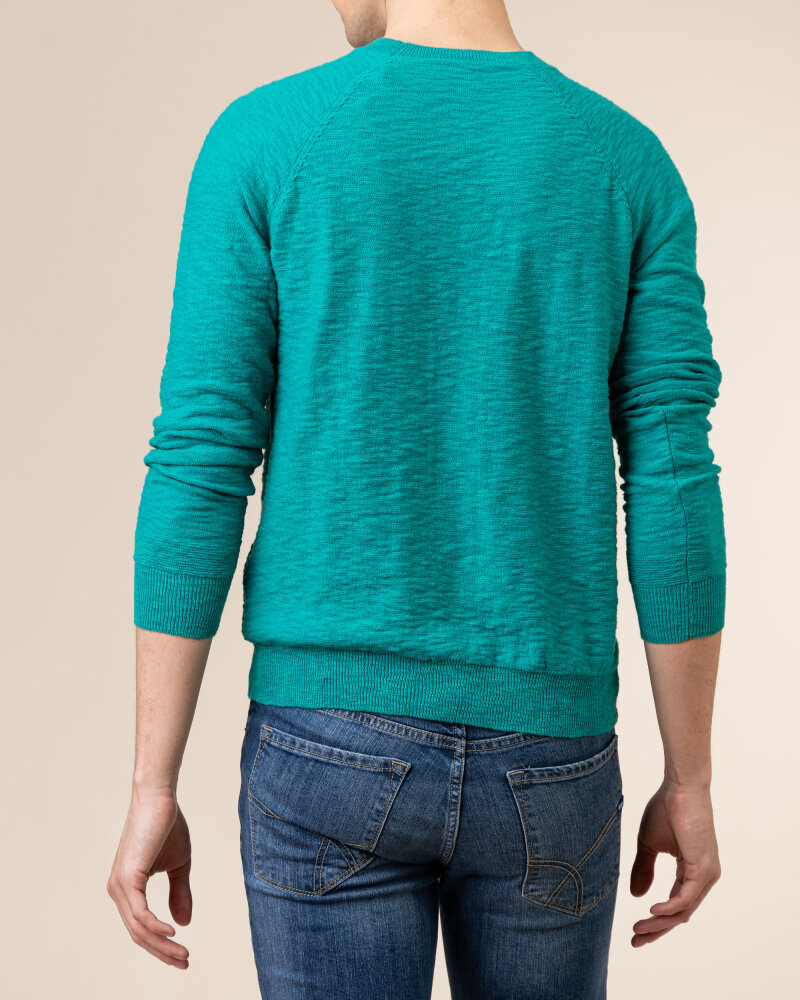 Sweter Gas A1304_MILLO/R             _2638 zielony - fot:4