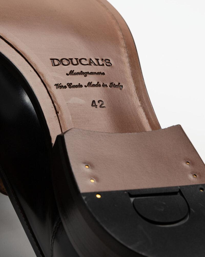 Buty Doucal's DU2616BELFUS007TM02_HORSE EBANO+F.DO T.M brązowy - fot:3