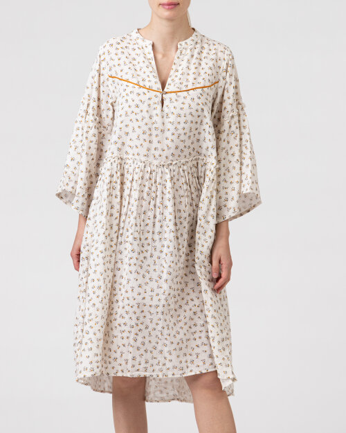 Sukienka Lollys Laundry 21146_3023_CREME kremowy
