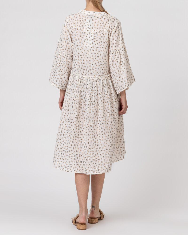 Sukienka Lollys Laundry 21146_3023_CREME kremowy - fot:4