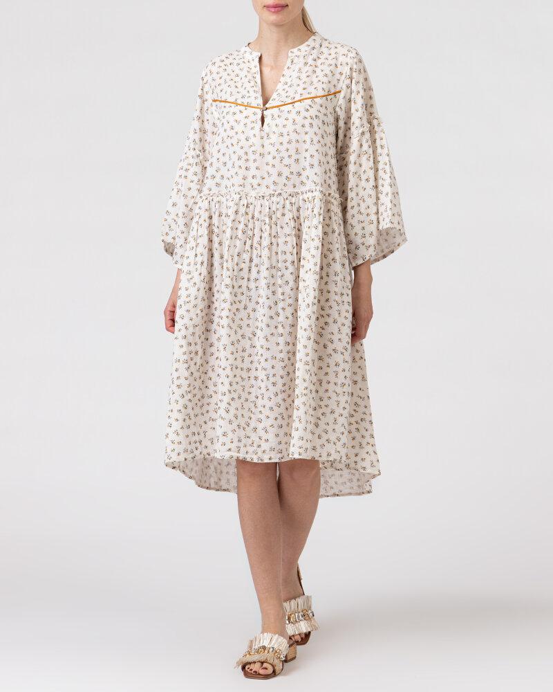 Sukienka Lollys Laundry 21146_3023_CREME kremowy - fot:5