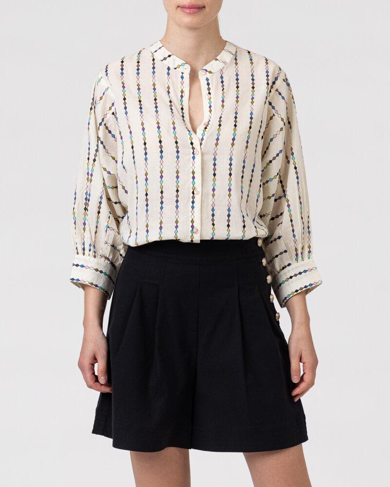 Koszula Lollys Laundry 21176_2054_MULTI kremowy - fot:2