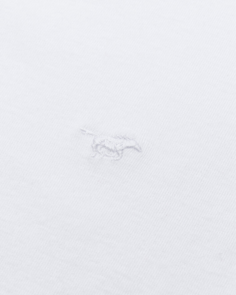 T-Shirt Mustang 1008814_2045 Biały Mustang 1008814_2045 biały - fot:3