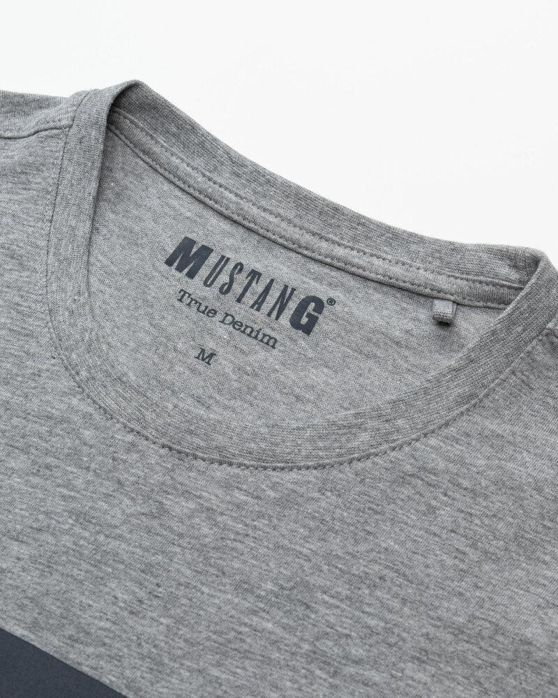 T-Shirt Mustang 1010372_4140 szary - fot:2