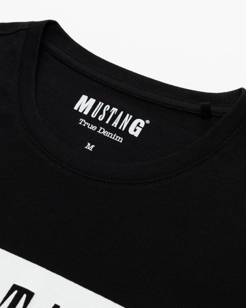 T-Shirt Mustang 1010372_4142 czarny - fot:2