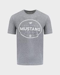 T-Shirt Mustang 1010676_4140 szary- fot-0