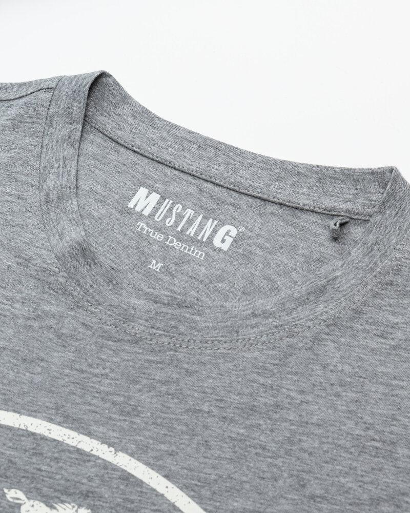 T-Shirt Mustang 1010676_4140 Szary Mustang 1010676_4140 szary - fot:2