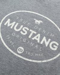 T-Shirt Mustang 1010676_4140 szary- fot-2