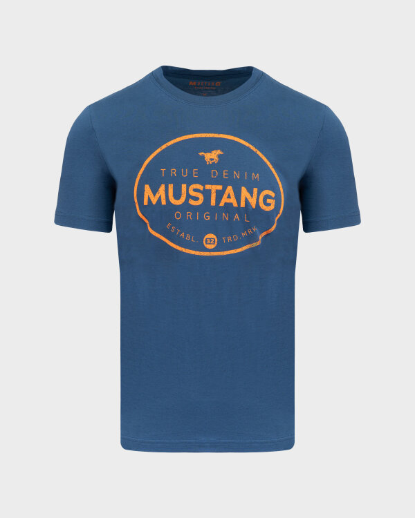 T-Shirt Mustang 1010676_5229 Niebieski Mustang 1010676_5229 niebieski