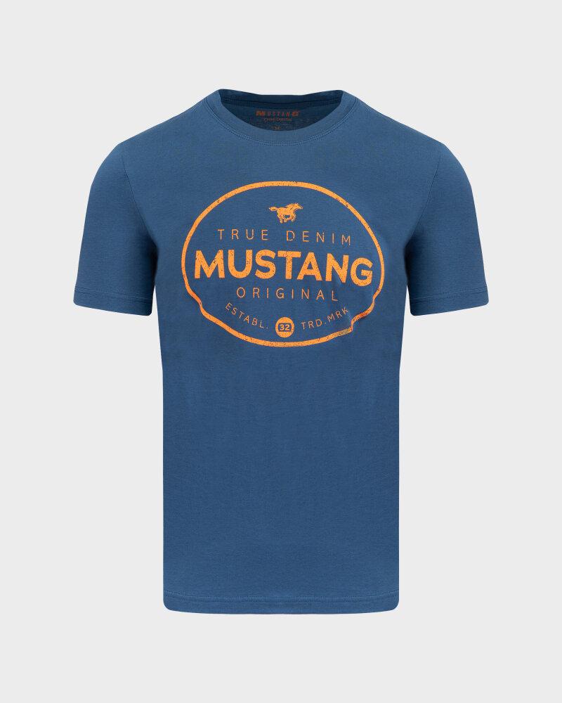 T-Shirt Mustang 1010676_5229 Niebieski Mustang 1010676_5229 niebieski - fot:1