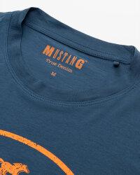 T-Shirt Mustang 1010676_5229 niebieski- fot-1