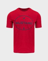 T-Shirt Mustang 1010676_7189 czerwony- fot-0
