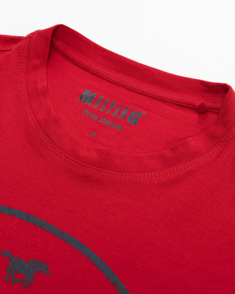 T-Shirt Mustang 1010676_7189 Czerwony Mustang 1010676_7189 czerwony - fot:2