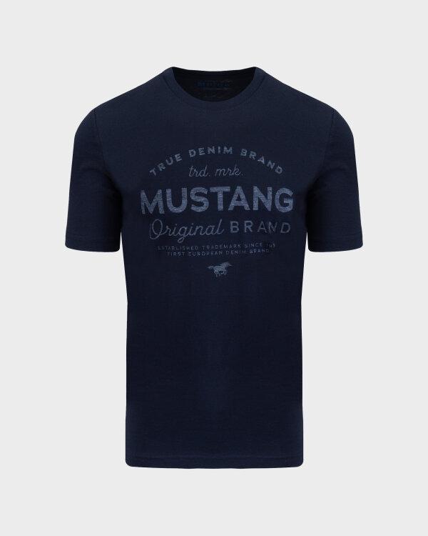 T-Shirt Mustang 1010707_4136 Granatowy Mustang 1010707_4136 granatowy
