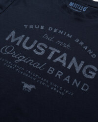 T-Shirt Mustang 1010707_4136 granatowy- fot-2