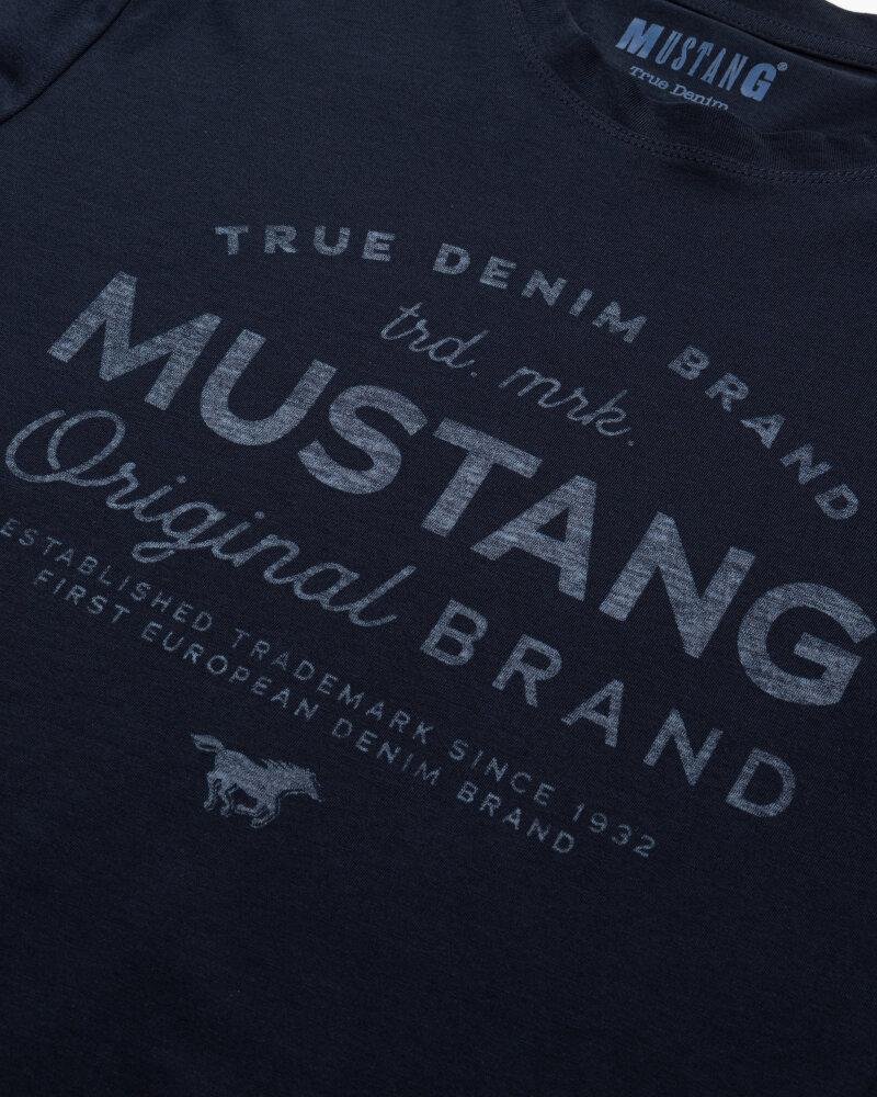 T-Shirt Mustang 1010707_4136 Granatowy Mustang 1010707_4136 granatowy - fot:3