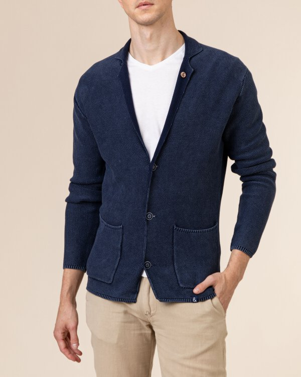 Sweter Colours & Sons 9121-102_699 MIDNIGHT granatowy