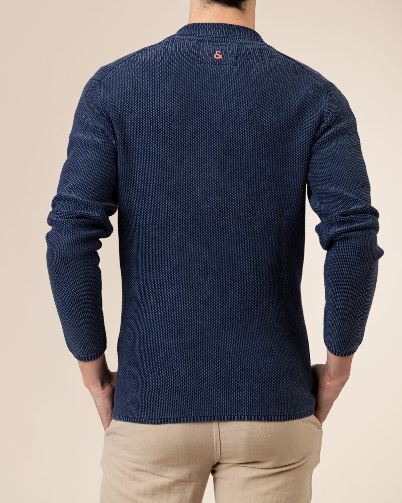 Sweter Colours & Sons 9121-102_699 MIDNIGHT granatowy - fot:4