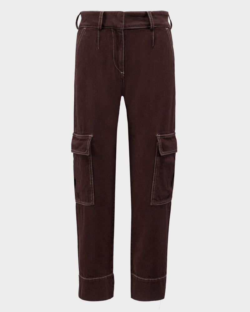 Spodnie Trussardi  56P00252_1T004845_B285 brązowy - fot:1