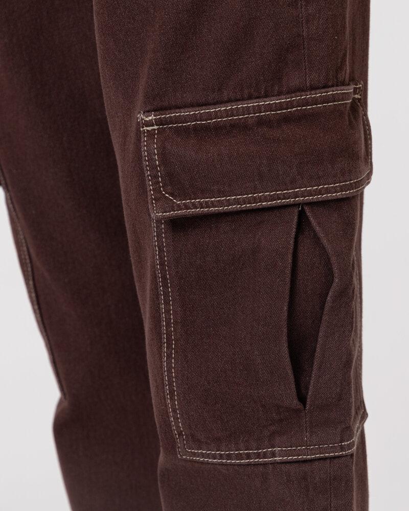 Spodnie Trussardi  56P00252_1T004845_B285 brązowy - fot:3