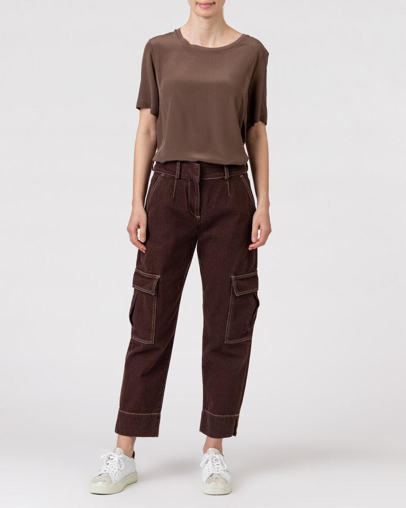 Spodnie Trussardi  56P00252_1T004845_B285 brązowy - fot:6