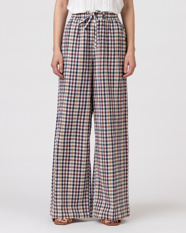 Spodnie Lollys Laundry 21108_5011_CHECK PRINT wielobarwny