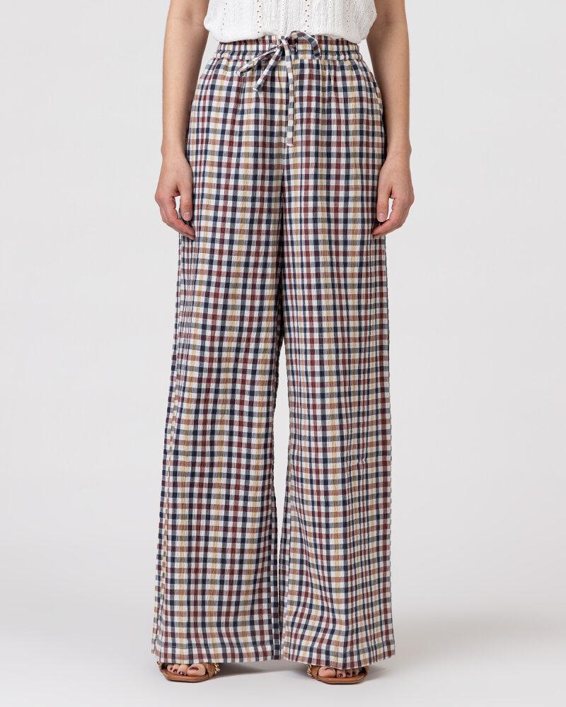 Spodnie Lollys Laundry 21108_5011_CHECK PRINT wielobarwny - fot:2