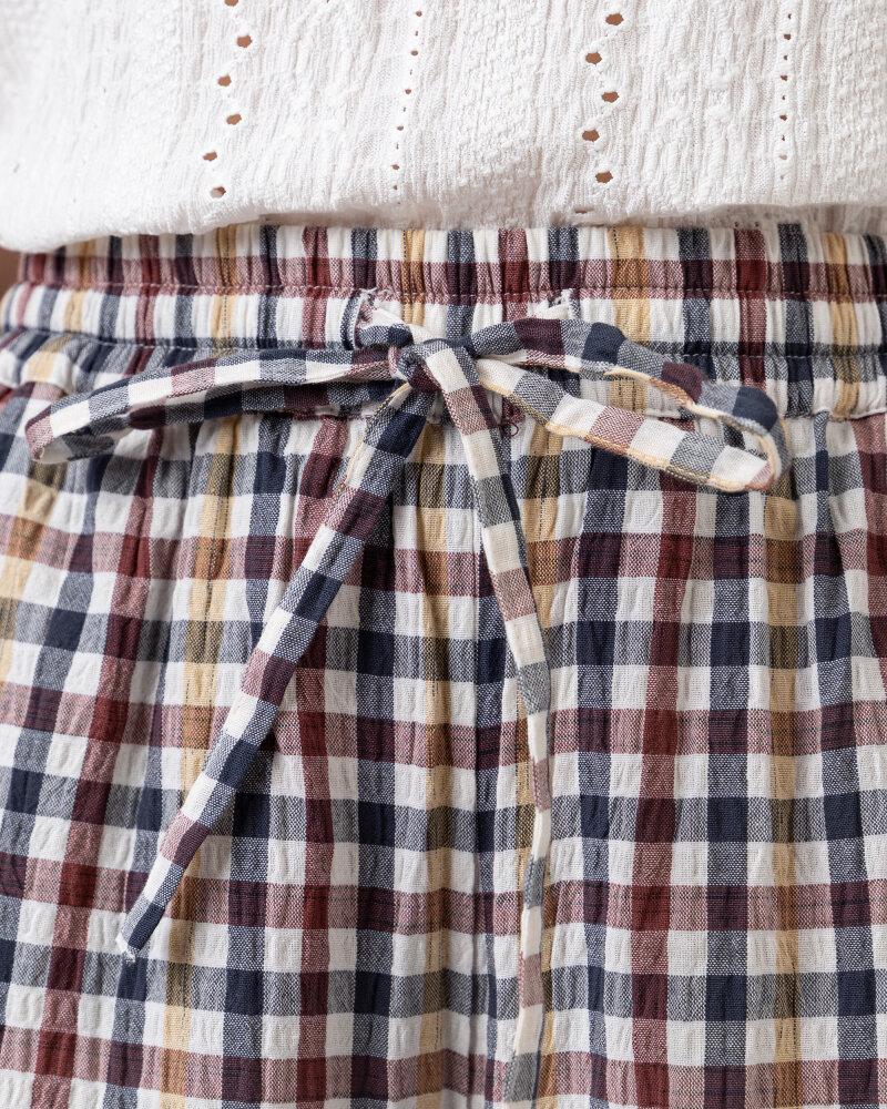 Spodnie Lollys Laundry 21108_5011_CHECK PRINT wielobarwny - fot:3