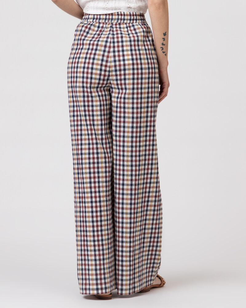 Spodnie Lollys Laundry 21108_5011_CHECK PRINT wielobarwny - fot:4