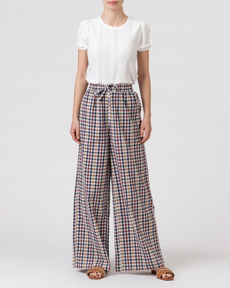 Spodnie Lollys Laundry 21108_5011_CHECK PRINT wielobarwny - fot:5