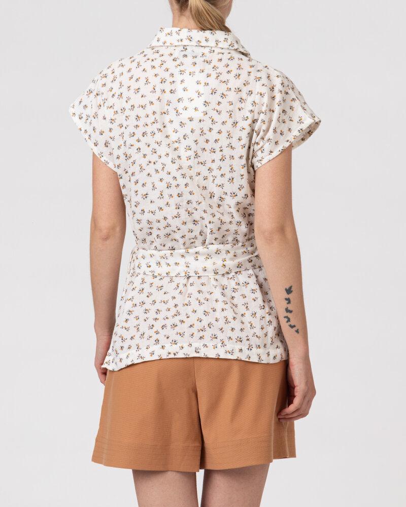 Bluzka Lollys Laundry 21146_1022_CREME kremowy - fot:4