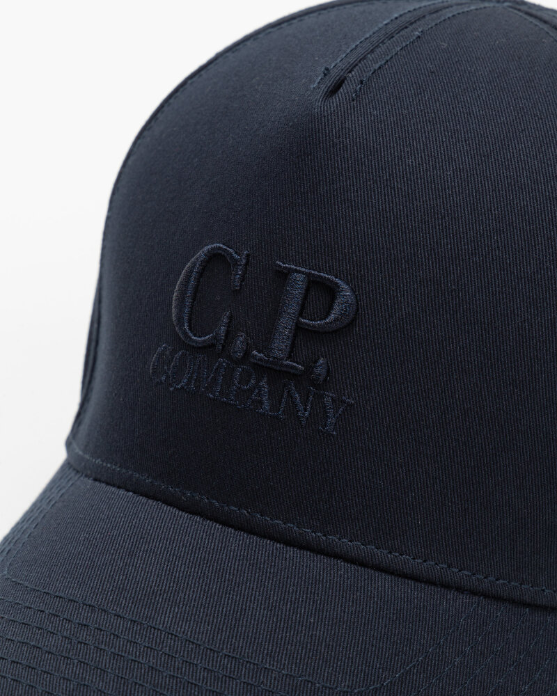 Czapka C.p. Company 10CMAC091A005279A_888 granatowy - fot:3