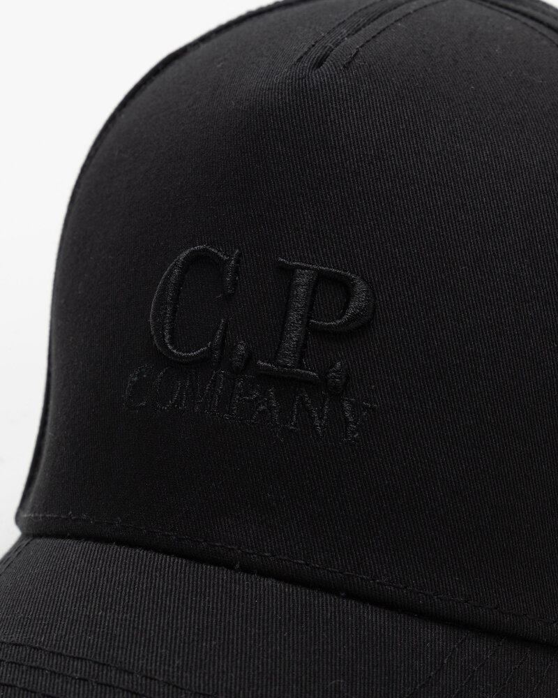 Czapka C.p. Company 10CMAC091A005279A_999 czarny - fot:3