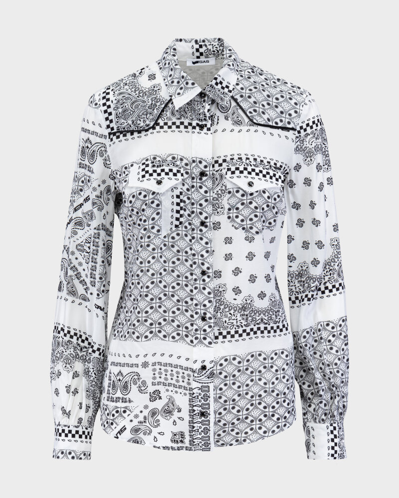 Koszula Gas A2002_MARAH Z.FANCY       _0001 biały - fot:1