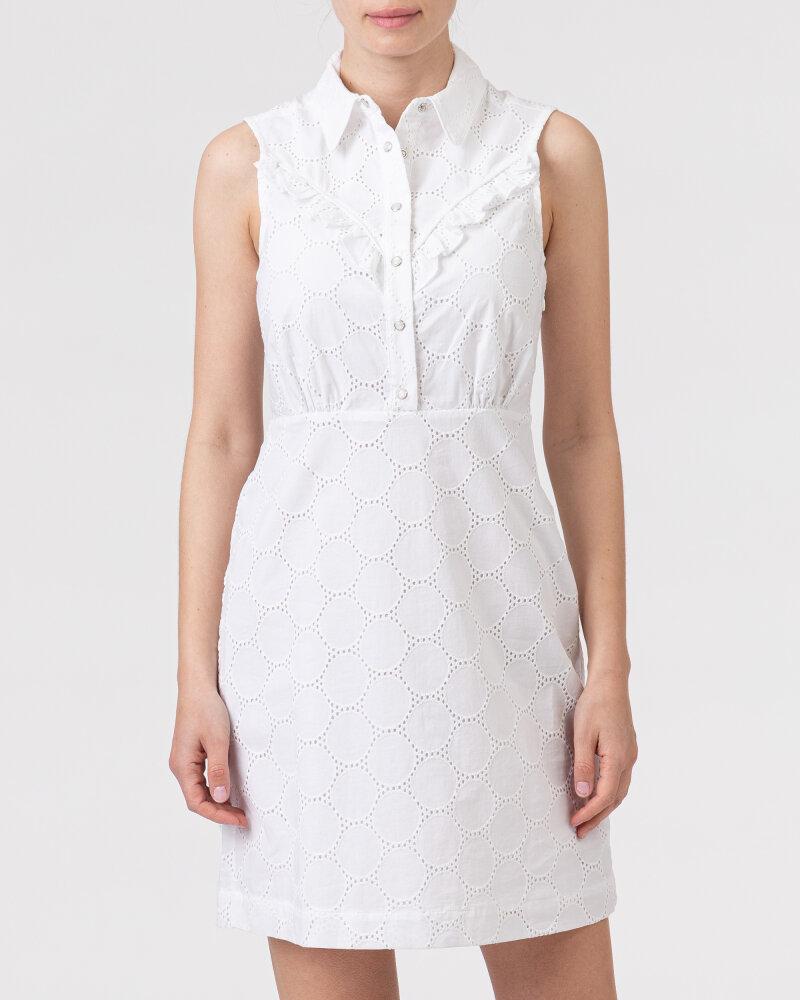 Sukienka Gas A1419_MARALY DRESS        _0001 biały - fot:2