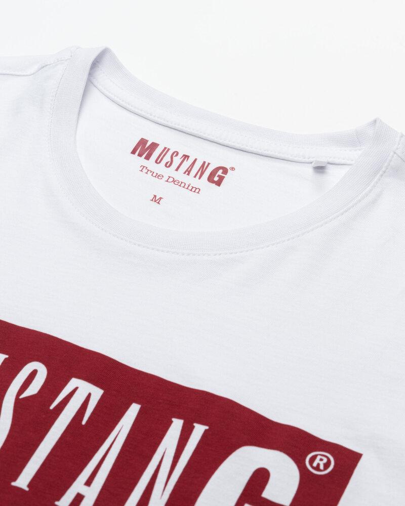 T-Shirt Mustang 1010372_2045 biały - fot:2