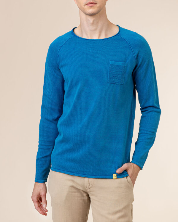 Sweter Colours & Sons 9121-100_649 BLUE niebieski