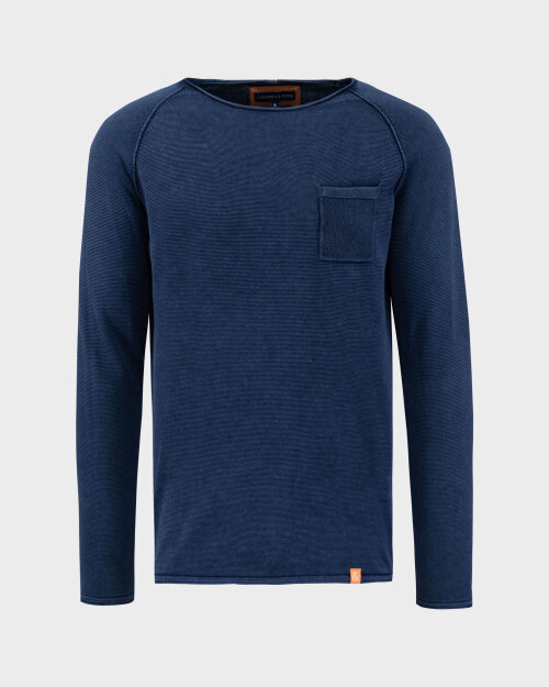 Sweter Colours & Sons 9121-100_699 MIDNIGHT granatowy