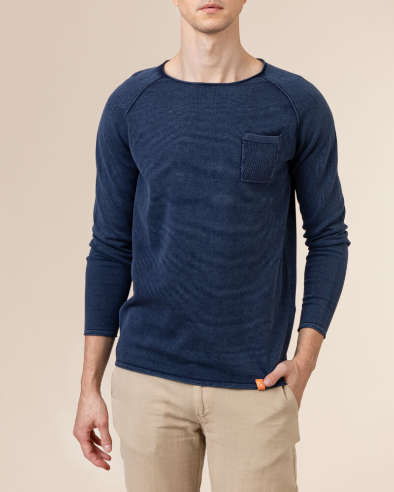 Sweter Colours & Sons 9121-100_699 MIDNIGHT granatowy - fot:2
