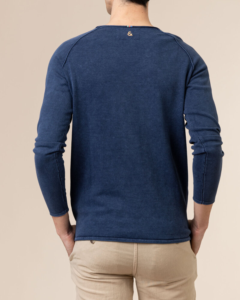 Sweter Colours & Sons 9121-100_699 MIDNIGHT granatowy - fot:4