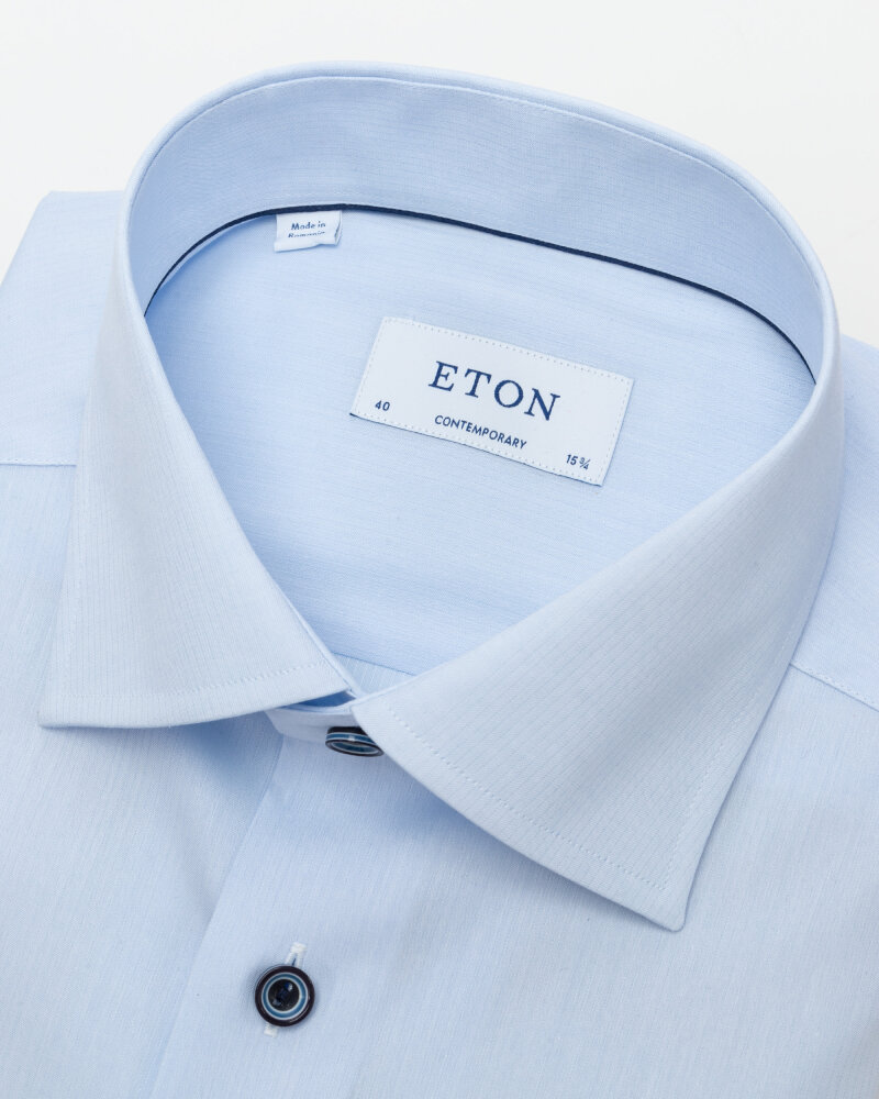 Koszula Eton 1000_02194_21 niebieski - fot:2
