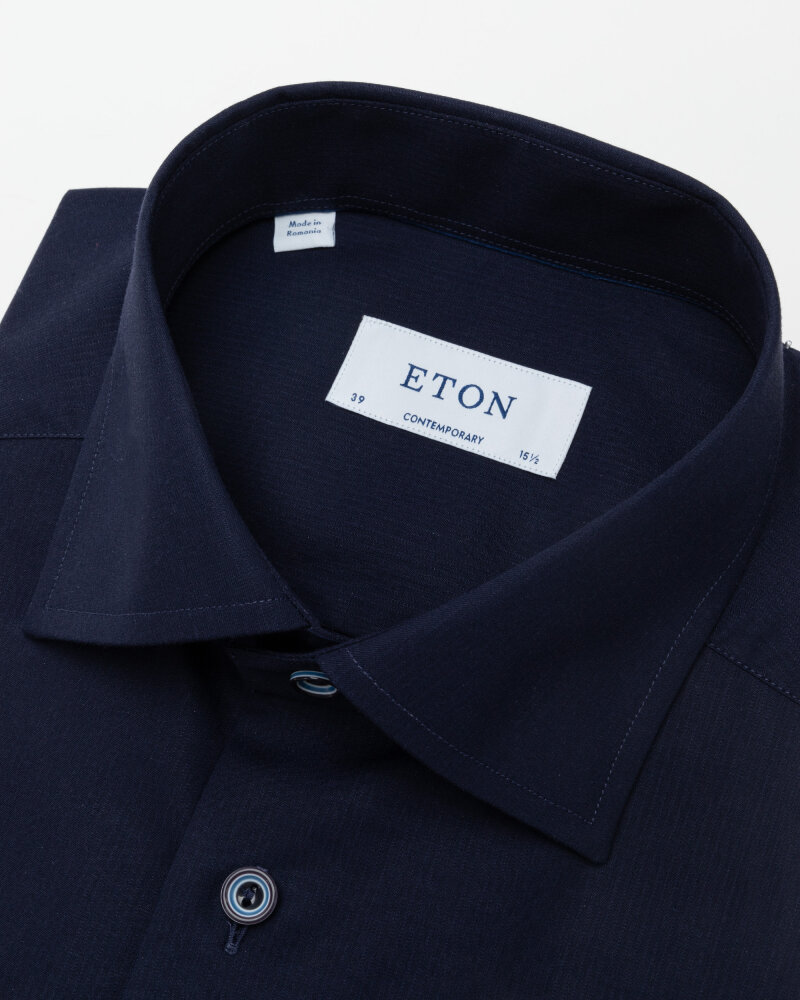 Koszula Eton 1000_02194_29 granatowy - fot:2